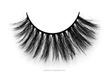3D Luxury Horse Hair False Eyelashes Thick Horse Fur Fake Eye Lash for Makeup 1 Pair Package