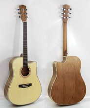 41 inch new design catalpa plywood guitar