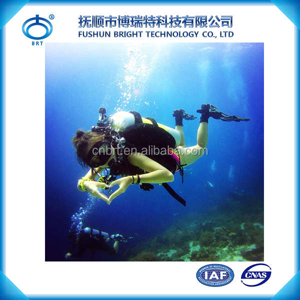 BPY-L700 SCUBA Cylinder and Aluminium Alloy Gas Cylinders For Diving and Breathing Underwater Breathe Apparatus