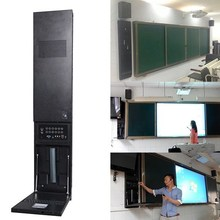 Speaker Built Multimedia Wall Hanging All in One Computer with Wireless Microphone