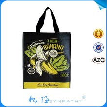 high quality customized reusable grocery bag/non woven fabric bag/spunbond bag