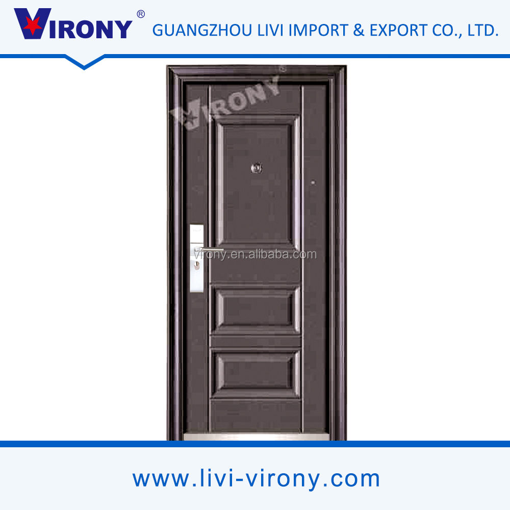 China manufacture virony open style swing security door made in zhejiang