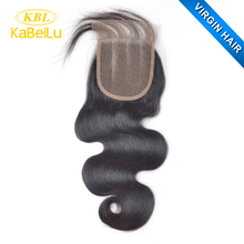 Alibaba china supplier wholesale virgin brazillian body wave hair with closure,unprocessed synthetic 5x5 lace closure