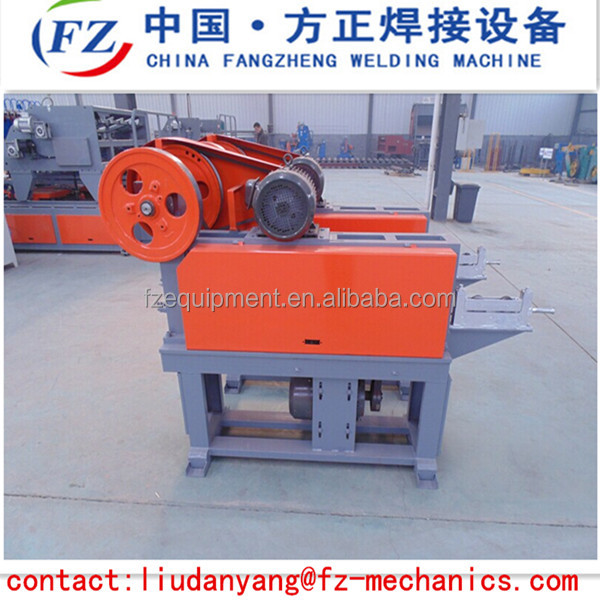 4-8mm steel wire straightening and cutting machine