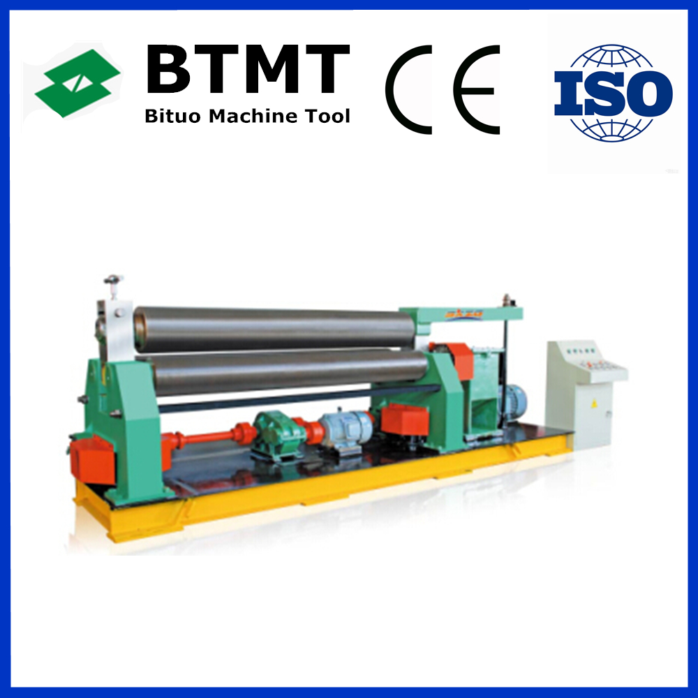 Int'l BTMT Brand <strong>W11</strong> Series Three Roller Rolling Machine for sale, sheet metal rolling machine, cnc steel rolling machine price