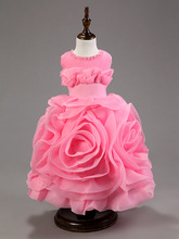 S63833A Baby Girl Tutu Dress Kids Prom Wedding Party Festival Birthday Dresses