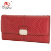 2018 latest design ladies purse brand red purse WA7054