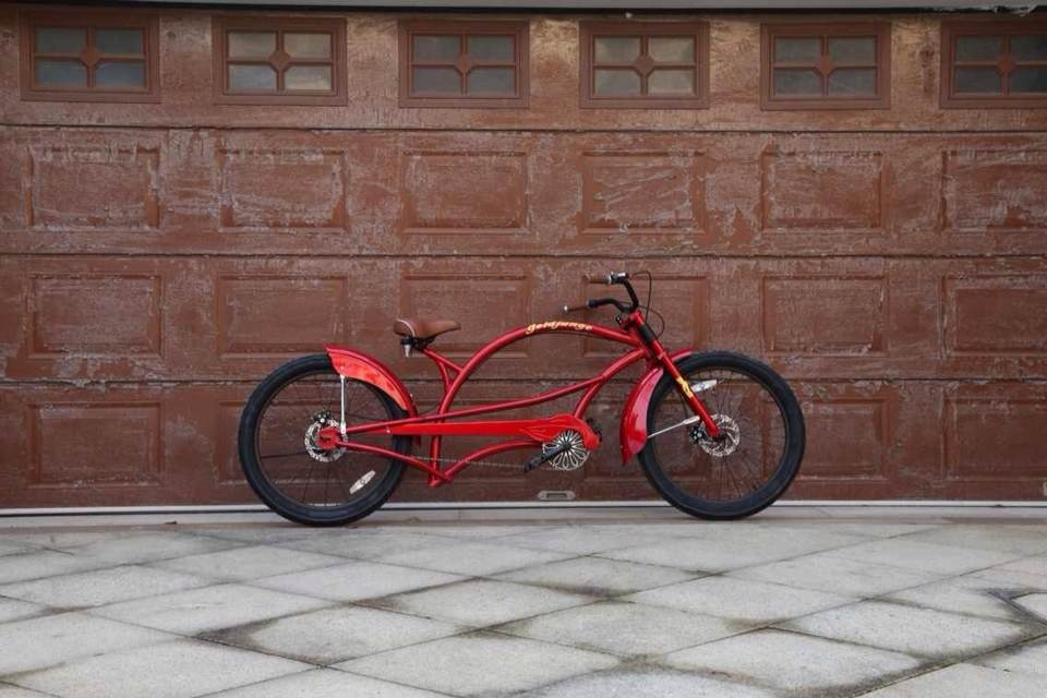 Canada steel single speed CE customized chopper beach cruiser