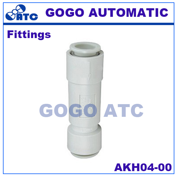 SMC type fittings AKH04-00 O.D 4mm straight type way check valve one-touch fittings Pneumatic Components