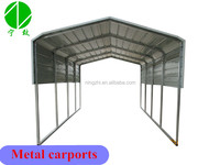 Steel car parking shade