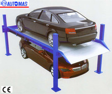 PSH 2 levels mini car parking lift / Double layers four post car parking system / smart car parking