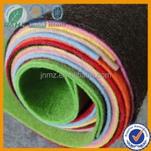 Color polyester felt, needle punched polyester felt, felt handicraft