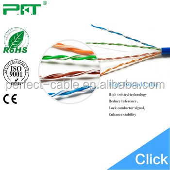 Perfect Shenzhen factory supply cat5e utp LAN cable indoor cabling price per meter
