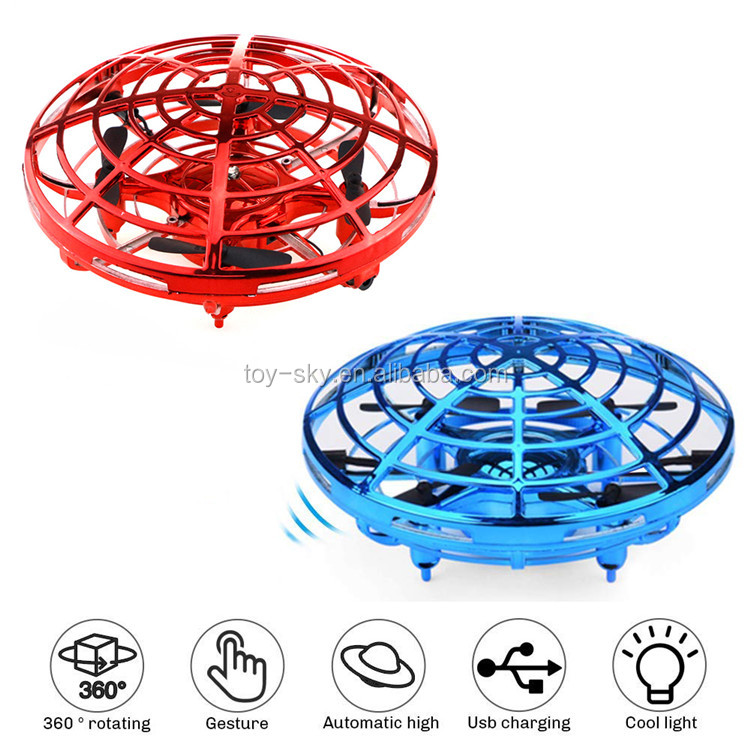 2019 Hot Sale Funny Induction drone with Transmitter UFO Toy