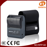 Portable thermal receipt mini printer for laptop