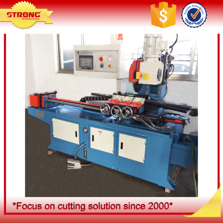 semiautomatic metal circular sawing machine