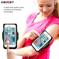 Premium Sports Exercise Armband for Running, Workouts or Any Fitness Activity, Key Holder & Card Slot, Sweat-proof