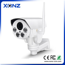 Motorized Auto Zoom 2.8-12mm Varifocal Lens IR 60M PTZ rotating bracket P2P 1080p 2.0mp 4x ip ptz camera