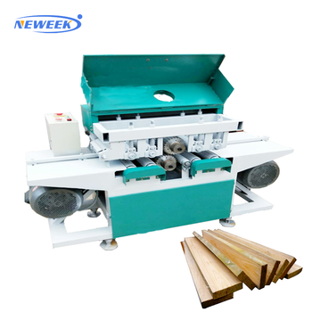 Neweek woodworking sawmill square timber sawing wood multi blade saw machine