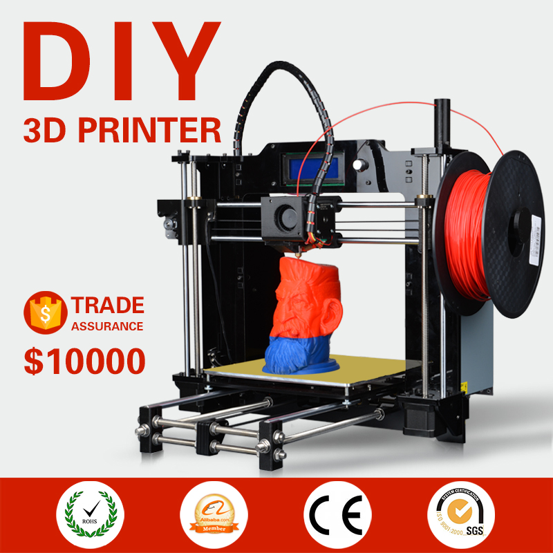 prusa i3 Cura software 420*310*350mm mini 3d printer assembly kits for home