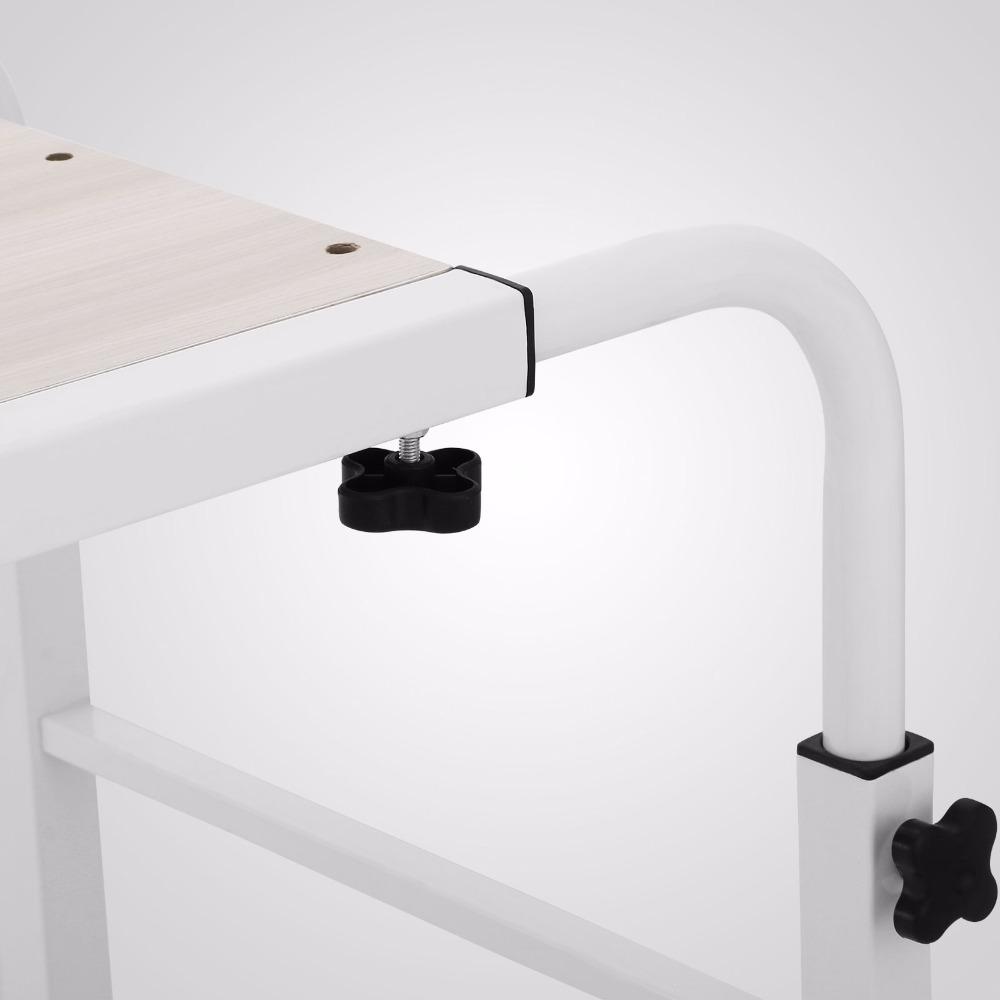 overbed tafel laptop 1 m overbed tafel lengte en hoogte verstelbare overbed bureau rolling tafel. Black Bedroom Furniture Sets. Home Design Ideas