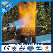 High Density borosilicate fire resistant glass tube all thickness