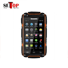 Original discovery V8 Android 4.2 MTK6572 4.0 Inch IPS screen Dual SIM Card rugged smartphone 3g