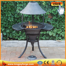 Bulk wholesale cast iron chiminea/ outdoor chiminea stands