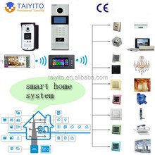 Villa WIFI video door phone for IP access control solution with TAIYITO wifi video doorbell