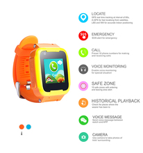 GPS AGPS LBS WIFI accurate locating gps kids tracker watch