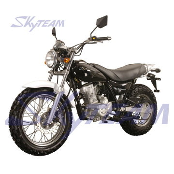skyteam affe 4 takt 50cc 125cc 250cc motorrad dax t rex. Black Bedroom Furniture Sets. Home Design Ideas