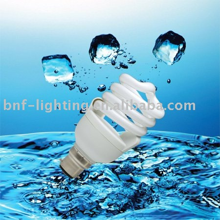 B22/E27 T2 spiral light bulb CFL parts with energy saving bulbs