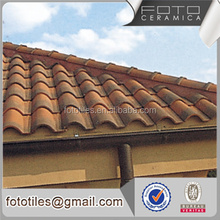 Chinese villa japanese style concrete tile roof