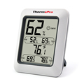 Thermopro TP50 Digital Hygrometer Thermometer Room-Used