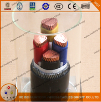Copper Conductor XLPE Insulated Armoured Fire Resistant Power Cable BS6387