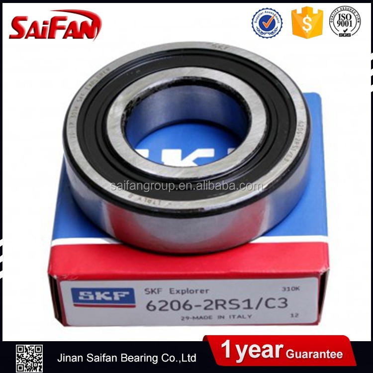 Electric Motor 6206zz Deep Groove Ball Bearing 6206 Motorcycle Bearing