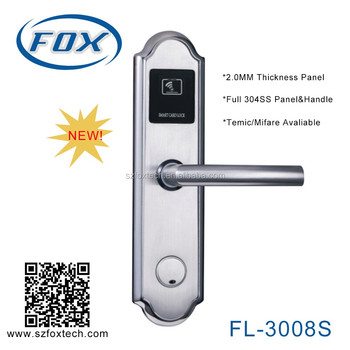 FOX high quality RFID hotel lock hotel card key system
