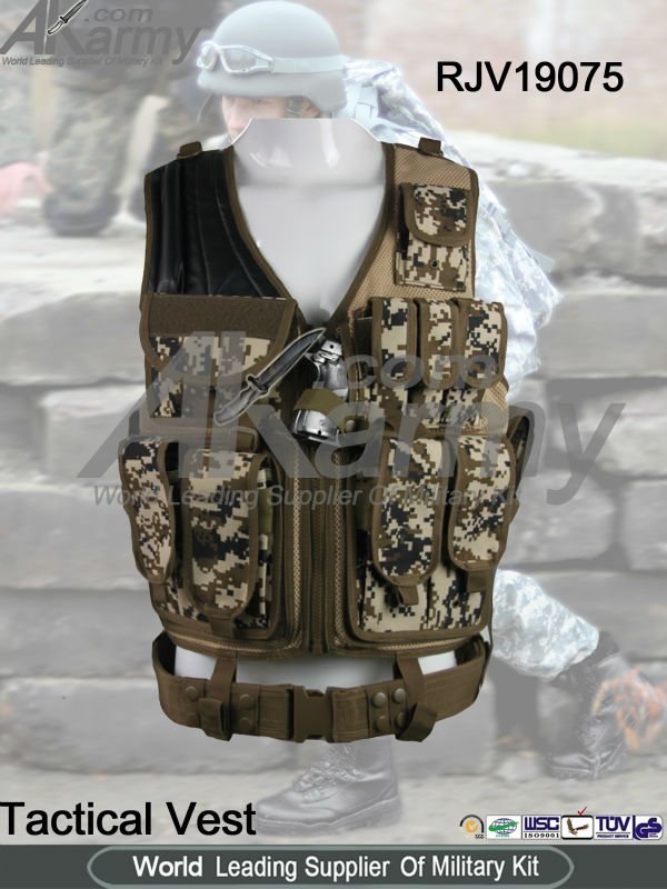 AKMAX Digital camovest military vest m tactical vest airsoft ade by FashionOutdoor