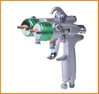 2015 freezing good quality hard double nozzle spray guns