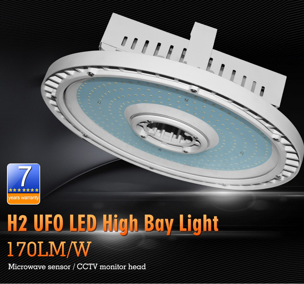 170Lm W Led High Bay Light Ip65 Industrial Warehouse 150W Led High Bay UFO