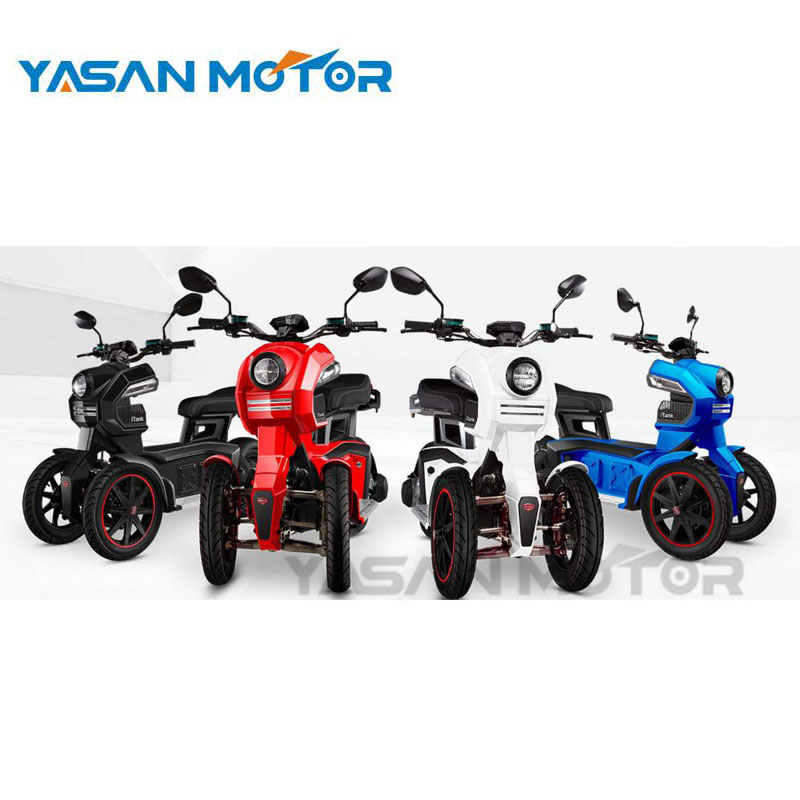 70KM/H 1500W 3 Wheel Doohan Electric Tricycle For Adults