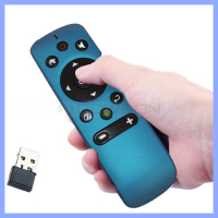 Mini wireless 2.4G android smart remote control G-sensor anti-shake algorithm 3D motion sense air remote mouse