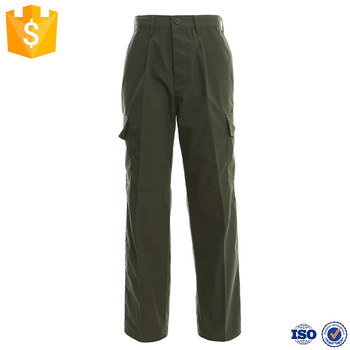 FBP014 Army Green Color Military Fatigue Pants