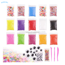 wholesale Slime Beads Set with Slime Tools Fit for Slime Making Art DIY