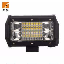 Waterproof IP68 CE RoHs Approved Car Led Work Light 6000K 5inch 72W SUV Jeep Driving Lamp