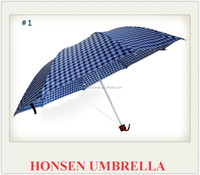 Honsen 3 Folding Umbrella, 3 Fold UP Umbrella, 3 Foldable Umbrella