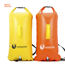 Foldable outdoor hydration ocean pack waterproof dry backpack hiking equipment swim buoy