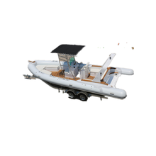 China rigid cheap inflatable rib boats for sale