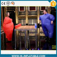 Shirt fat suit pants inflatable costumes for game and party