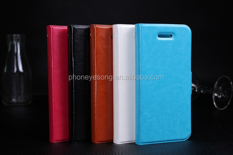 Business PU Filp Case For Iphone 4/4s